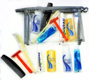 Standard Hygiene Supply Kit in Vinyl Pouch – FREE SHIPPING