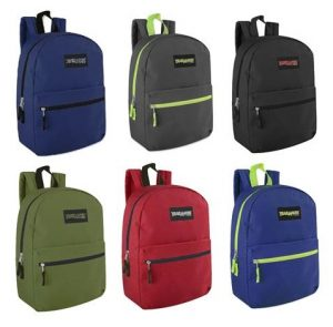 Trailmaker Classic 17 inch Backpack (case of 24)