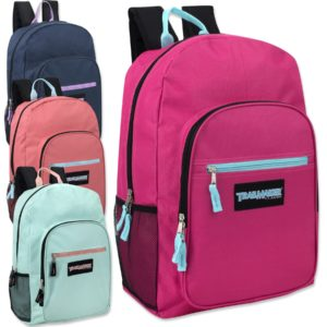Wholesale Trailmaker Deluxe 19 Inch Backpack- Girls