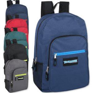 Wholesale Trailmaker Deluxe 19 Inch Backpack – 6 Colors
