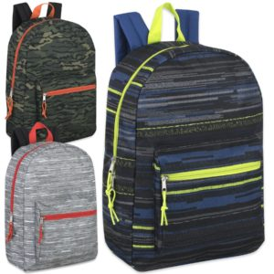 Wholesale 17 Inch Printed Backpacks – Boys