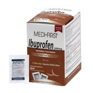 Medi-First® 80848 Ibuprofen, 125 Packets of 2, Pain Reliever