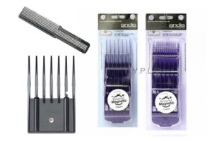 Clipper guides, guards & attachment combs
