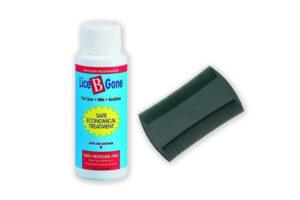 Lice Control Shampoo & Accessories