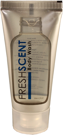 Freshscent Body Wash Tube, 1 oz. Travel Amenity (288 case)