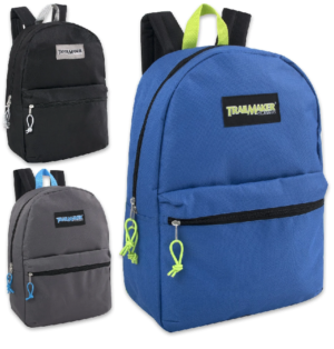 Trailmaker Classic 17 inch Backpack – 3 Colors