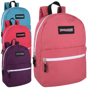 Trailmaker Classic 17 inch Backpack – Girls Assortment
