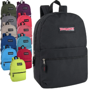 Trailmaker Classic 17 inch Backpack – 12 Colors