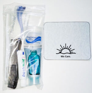 NEW Basic Hygiene Kit with Blank Encouragement Card – SHIPPING INCLUDED
