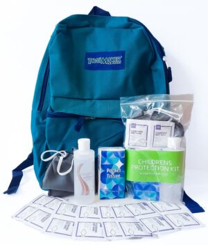 Children's Protection Kit with Backpack