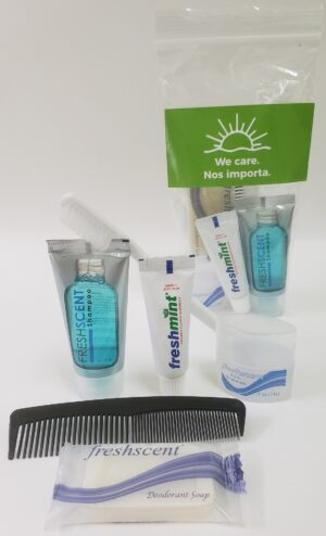 NEW Basic Hygiene Kit with WE CARE Message – SHIPPING INCLUDED